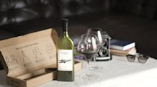 Wine company launches flat wine bottle designed to fit through letterbox
