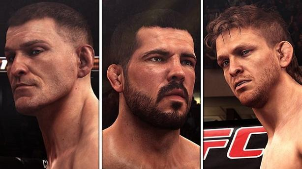 EA Sports UFC taunts three new fighters