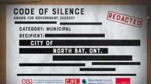 City of North Bay recognized for 'Outstanding Achievement' in Government Secrecy