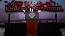 Donald Trump tells NRA: 'The 8-year assault on your Second Amendment freedoms has come to a crashing end'