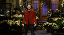 'SNL': 'Dune' star Timothée Chalamet makes bold sweatshirt statement amid Warner Bros. battle