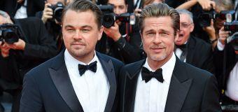 Brad Pitt and Leonardo DiCaprio hit the red carpet