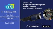 Vuzix and ST Engineering Launch the World's First Augmented Intelligence Biometric-Enabled Smart Glasses Platform