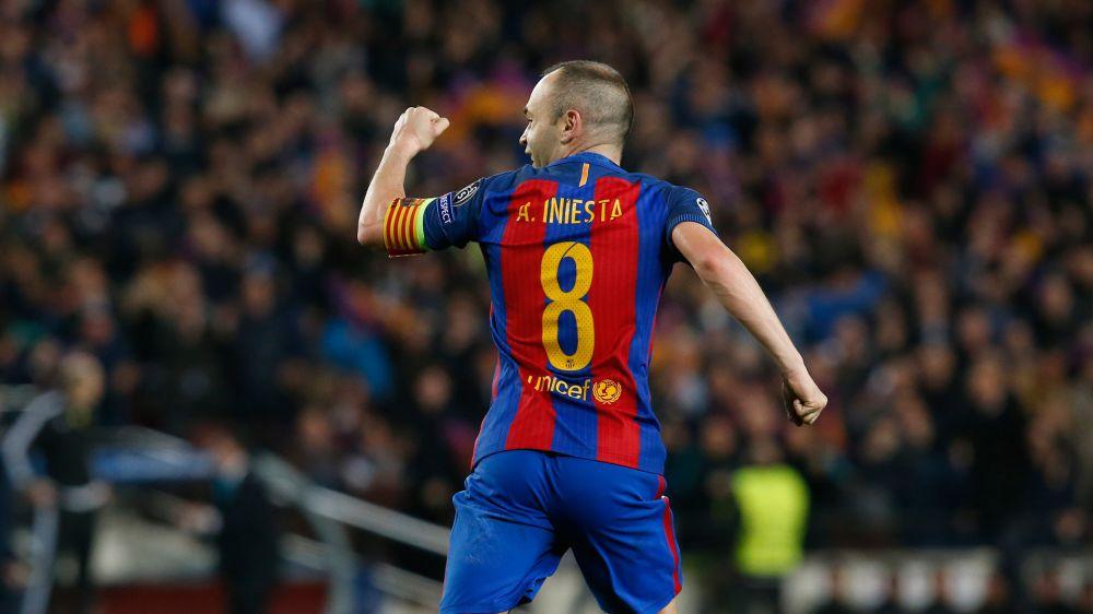 Barca-Sportdirektor Fernandez glaubt an Verbleib von Iniesta