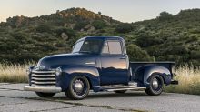 Icon Chevy Thriftmaster Pickup First Drive Review   Rowdy is its middle name