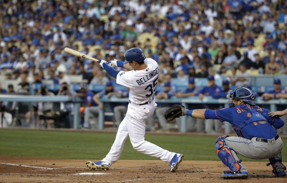 Dodgers rookie Cody Bellinger has already exceeded expectations. (AP Photo)