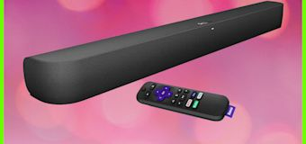 This Roku soundbar instantly turns your old TV into a smart TV—and it's on sale