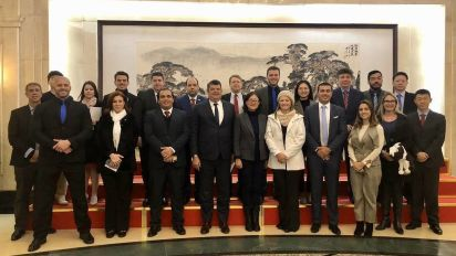Comitiva do PSL na China cobra apoio de Bolsonaro