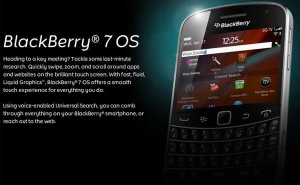 RIM announces BlackBerry 7 OS with better browser and BlackBerry Balance, but no legacy support