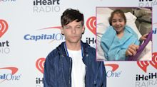 Louis Tomlinson donates $10,000 to little girl with cerebral palsy