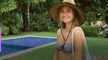 Sasha curte férias em resort de luxo ao lado do namorado