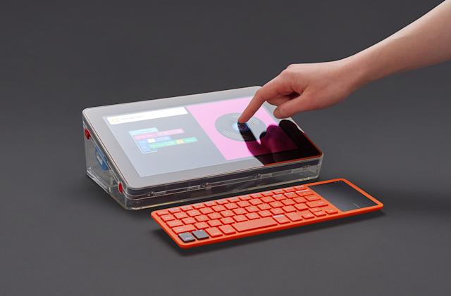 Kano adds a touchscreen to its complete DIY computer kit