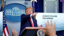 Trump campaign tells surrogates to paint Biden as 'the opposition' in coronavirus war