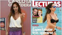 La nueva figura de María Patiño tras su operación de aumento de pecho