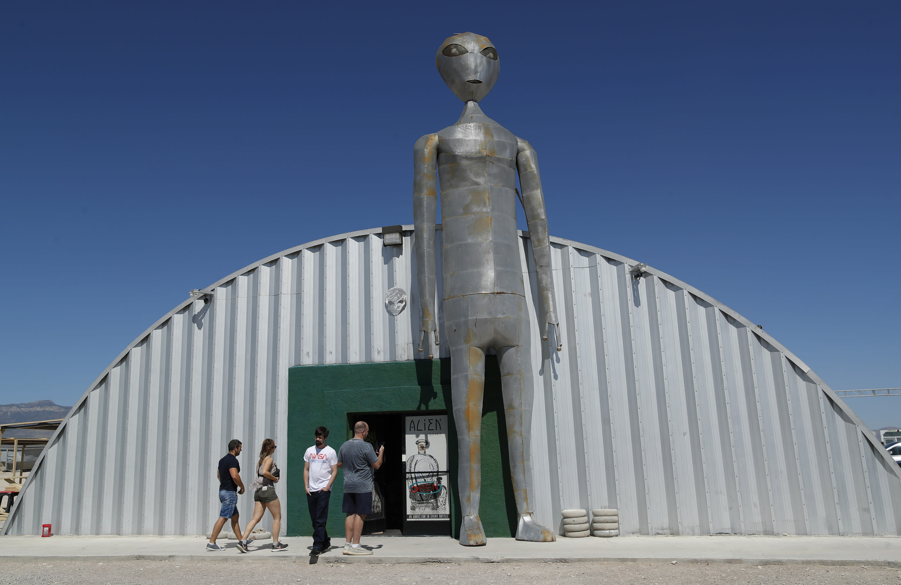 WEEKEND: Nevada desert towns prep for possible 'Storm Area 51' influx...