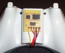 Tilt modded Xbox 360 controller now wireless