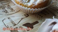 一人獨享的蘋果小蛋糕,小巧份量的果甜滋味。