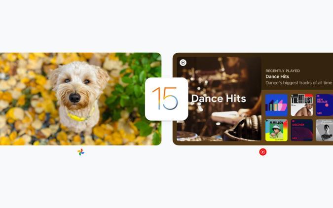Google iOS 15 widgets