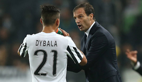 "Champions League: Allegri: ""Dybala war hervorragend"""