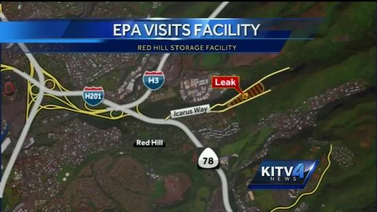 EPA visits Red Hill storage facility