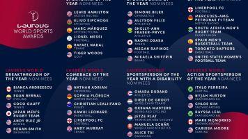 Sport: Laureus World Awards, Nadal, Messi e Hamilton tra candidati a sportivo dell'anno