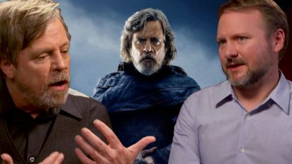 Johnson reveals 'terrifying' clash with Hamill over Luke