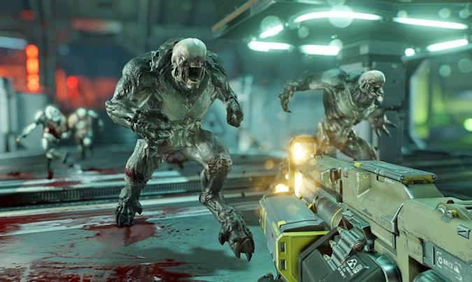 'Doom' unleashes hell with a new arcade mode