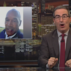 John Oliver blasts O.J. Simpson's new Twitter account