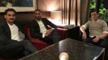Mesut Ozil and Ilkay Gundogan meet Germany president following Recep Tayyip Erdogan controversy