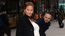 Pregnant Chrissy Teigen Was Almost Run Over in NYC