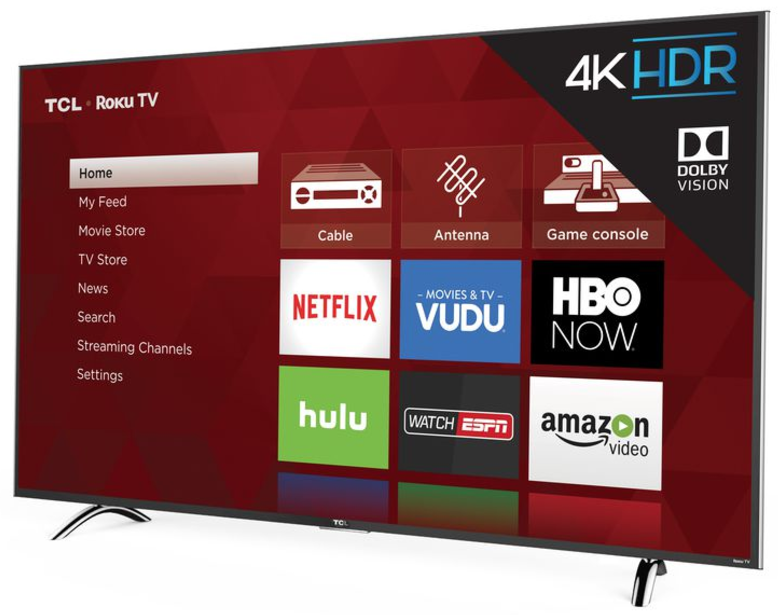 At just $380, this 55-inch 4K Roku TV is half the price of