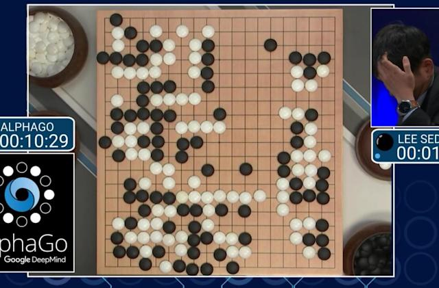 Watch AlphaGo vs. Lee Sedol (update: AlphaGo won)