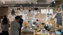 MUJI's first flagship store in Singapore features open community space, custom embroidery service