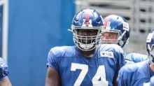 Giants' Joe Judge doesn't commit to Andrew Thomas at left tackle after Matt Peart's solid first career start