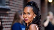 Kerry Washington keeps her edges slicked down with this household item