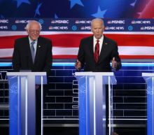 Here's What the Protesters Were Yelling to Joe Biden at the Nevada Democratic Debate