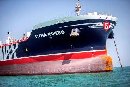 Seven of tanker Stena Impero's crew reach Dubai after Iran frees them
