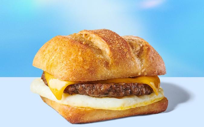 Starbucks' Impossible sausage sandwich