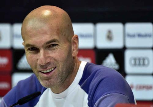 Visando clássico, Zidane não garante titulares nesta quarta
