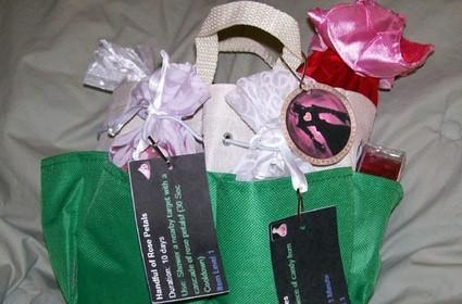 A WoW gift bag for Valentine's Day