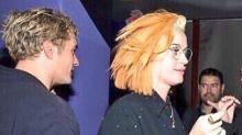 Katy Perry y Orlando Bloom ahora rubios