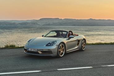 Porsche推出Boxster 25週年限定款、全球限量1250台售價499萬元起!