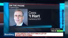 Carlsberg CEO Sees 'Stellar Growth' in Asia