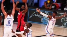 Basket - NBA - NBA: Houston s'en sort bien face à Oklahoma City
