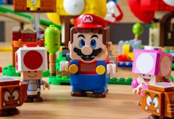 Lego hints at an upcoming Luigi-themed set with a clever update