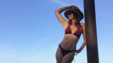 Cindy Crawford, 53, gets backlash for bikini photo: 'Getting a little old for this'