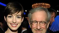 Anne Hathaway on Oscar Dress, Her Pal Spielberg