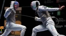 U.S. Olympic fencing team roster