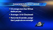 Officials urge caution during current hot spell