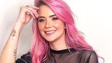 Marcela McGowan se confunde em publi e marca perfil de concorrente